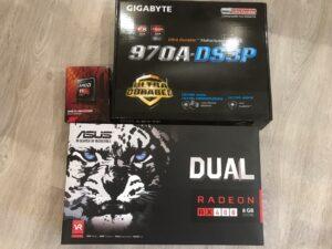AMD Radeon Dual RX480 8Gb