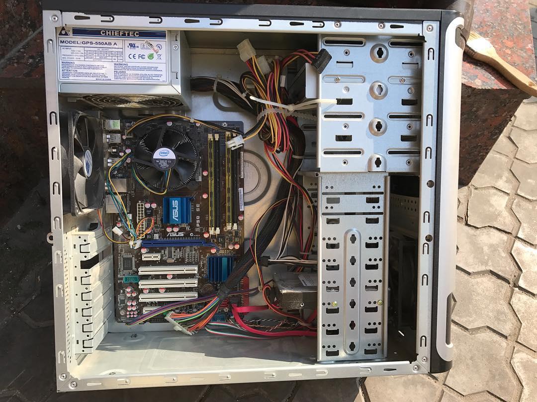 Почистил комп и заодно заменил е8400 на xeon 5450 и видео на geforce 1050ti. Такой себе бюджетный апгрейдик вышел