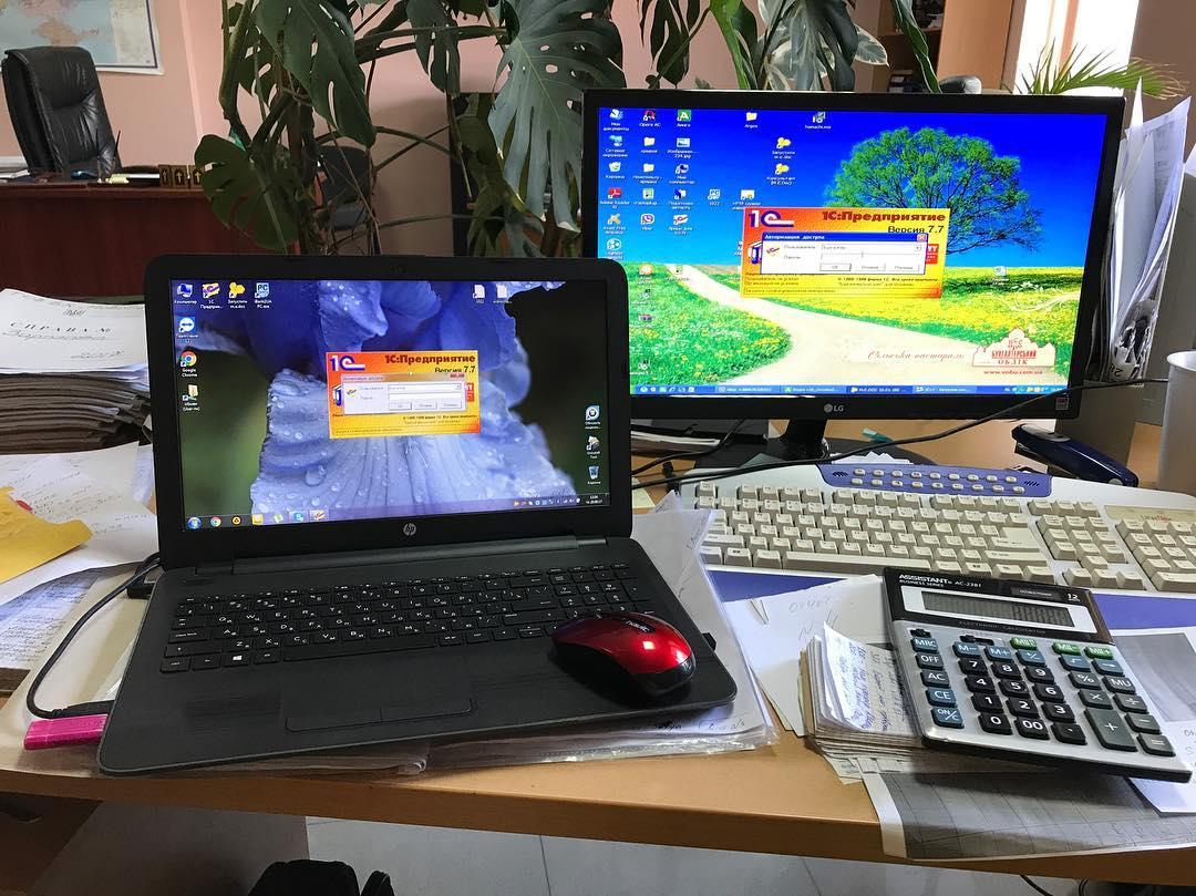 Перенос информации с бухгалтерскими программами со старенького компьютера на новый ноутбук