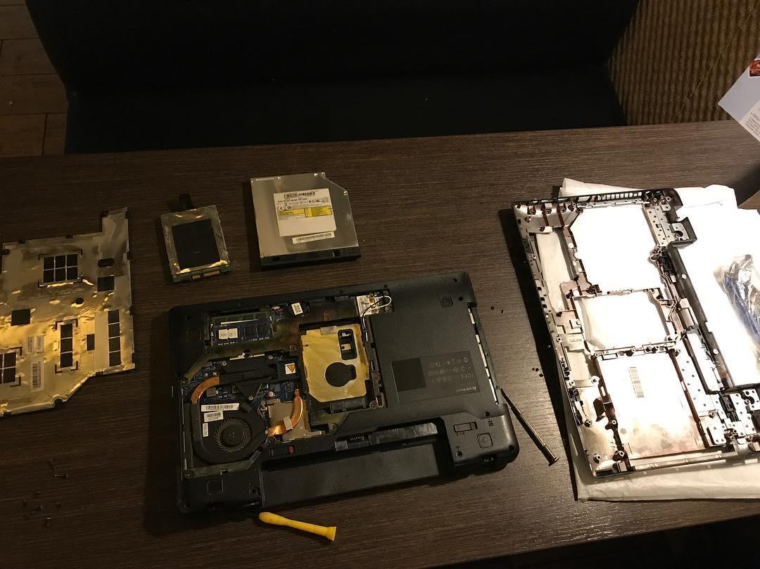 Замена корпуса на очень частая пломка у всех ноутбуков леново