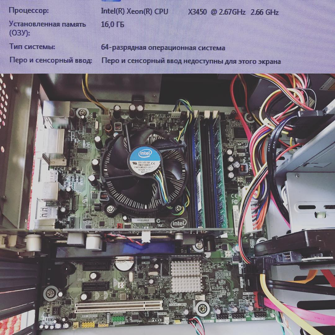 Сборка недорогого, но достаточно мощного сервера