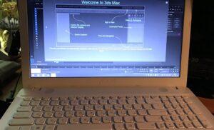 3dsMax на ноутбуке